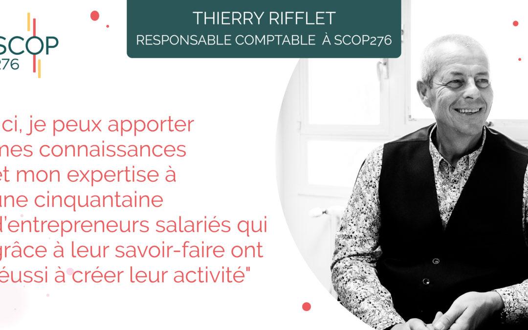Portrait : Thierry Rifflet, nouveau responsable comptable à SCOP276